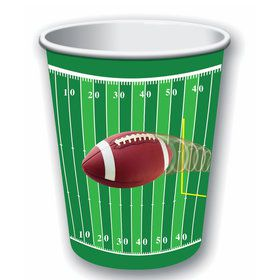 Football 9oz Paper Cups (8)