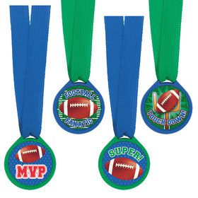Football Award Medals (12 Count)