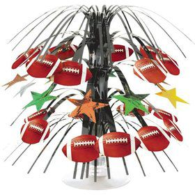 Football Cascade Centerpiece (Each)