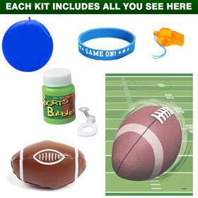 Football Favor Kit (for 1 Guest)