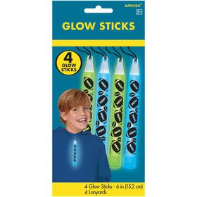 Football Glow Sticks (4 Count)