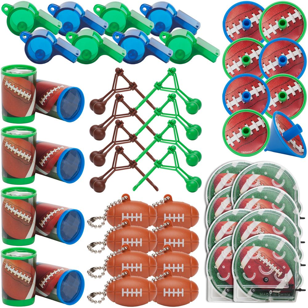 Football Mega Mix Favor Pack (For 8 Guests) - Party Supplies BB397750