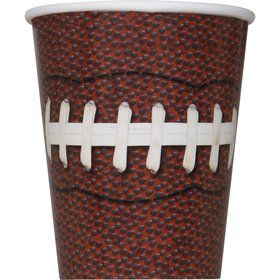 Football Party 9oz Cups (8 Count)