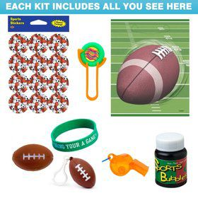 Football Party Favor Kit