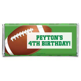 Football Party Personalized Candy Bar Wrapper (Each)