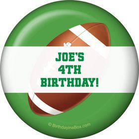 Football Party Personalized Magnet (each)