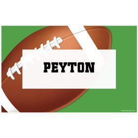 Football Party Personalized Placemat (each)