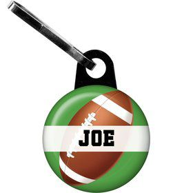 Football Party Personalized Zipper Pull (each)