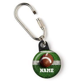 "Football Personalized 1"" Carabiner (Each)"