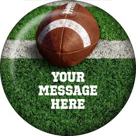 Football Personalized Magnet (Each)