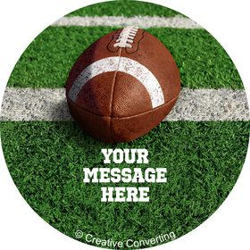 Football Personalized Mini Stickers (Sheet of 20)