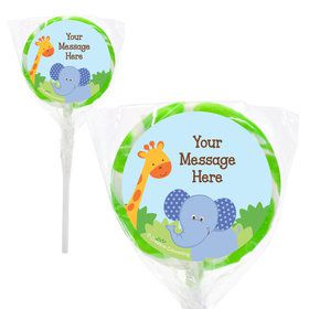 "Forest Friends Personalized 2"" Lollipops (20 Pack)"