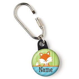 "Fox Personalized 1"" Carabiner (Each)"