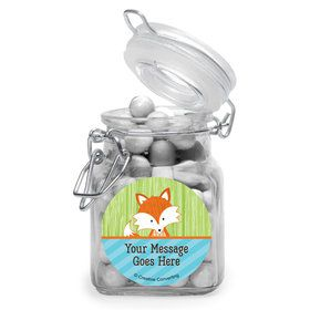 Fox Personalized Glass Apothecary Jars (10 Count)