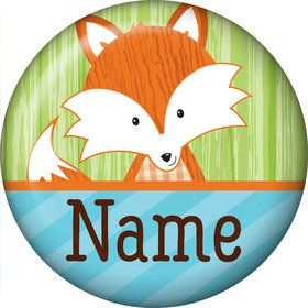 Fox Personalized Mini Button (Each)
