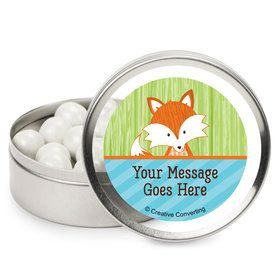 Fox Personalized Mint Tins (12 Pack)
