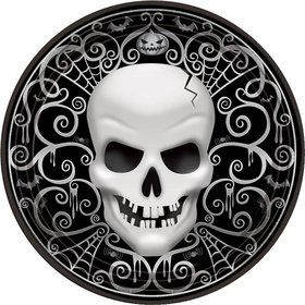 Fright Night Luncheon 10 1/2 Inch Plates (18 Count)