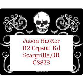 Fright Night Personalized Address Labels (Sheet of 15)