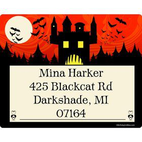 Frightful Personalized Address Labels (Sheet of 15)