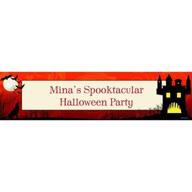 Frightful Personalized Banner (Each)