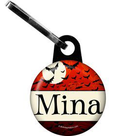 Frightful Personalized Zipper Pull (Each)