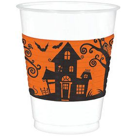Frightfully Fancy Halloween 16oz Plastic Cups (25 Count)