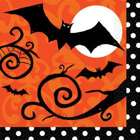 Frightfully Fancy Halloween Luncheon Napkins (36 Count)