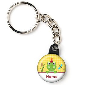 "Frog Pond Fun Personalized 1"" Mini Key Chain (Each)"
