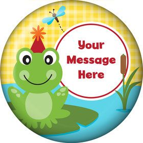 Frog Pond Fun Personalized Magnet (Each)