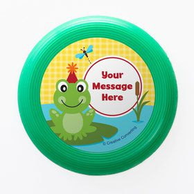 Frog Pond Fun Personalized Mini Discs (Set of 12)