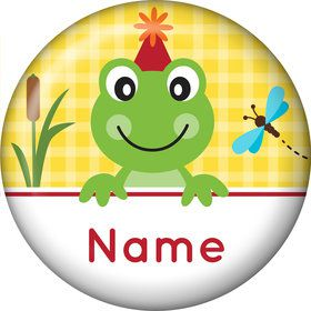 Frog Pond Fun Personalized Mini Magnet (Each)
