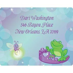 Frog Princess Personalized Address Labels (sheet of 15)