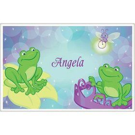 Frog Princess Personalized Placemat (each)
