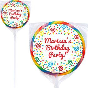 Frosted Cake Lollipops (Pack Of 12)