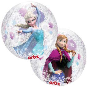 "Frozen 16"" Clear Orbz Balloon (Each)"