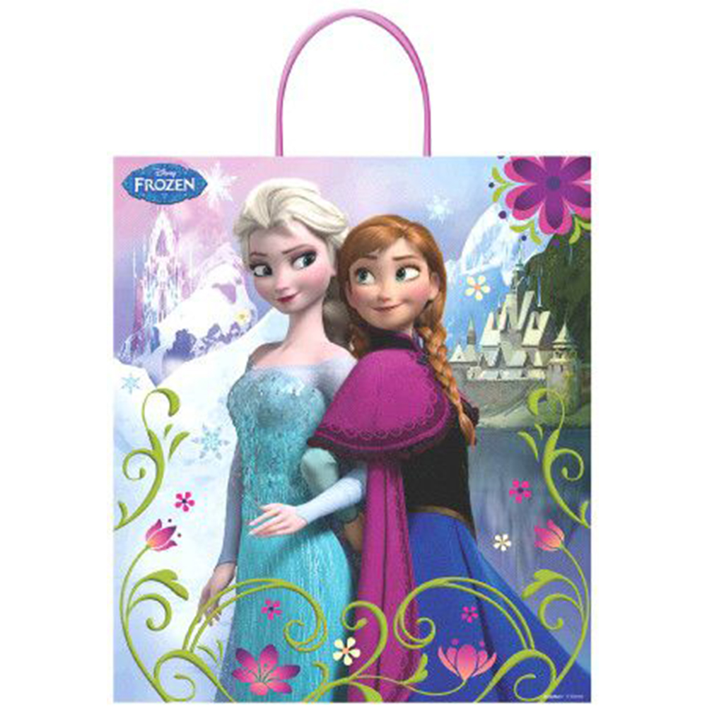 "Frozen 16"" Plastic Tote Bag (Each) - Party Supplies BB00370208"