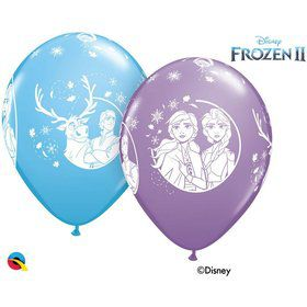 "Frozen 2 Assorted 11"" Latex Balloons (25ct)"