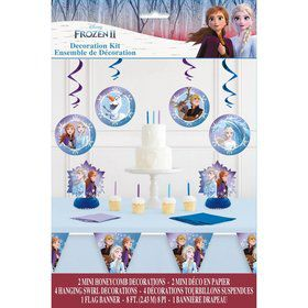 Frozen 2 Decor Kit (7pcs)
