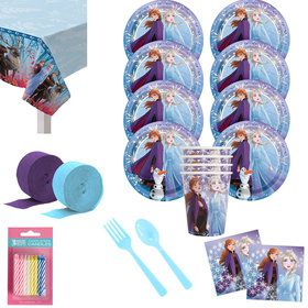 Frozen 2 Deluxe Tableware Kit (Serves 8)