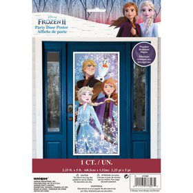 "Frozen 2 Door Poster 27""X 60"""