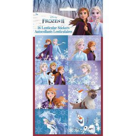 Frozen 2 Lenticular 3D Stickers (16pcs)