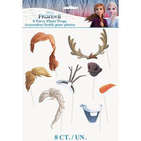 Frozen 2 Photo Booth Props (8pcs)