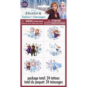 Frozen 2 Tattoos (24pcs)