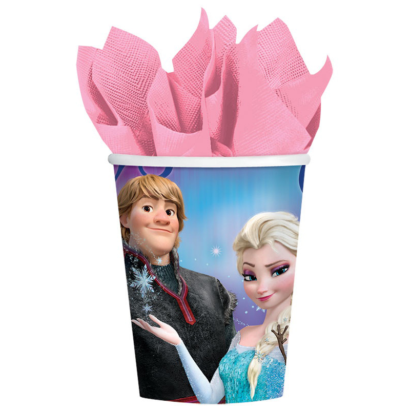 Disney's Frozen 9 oz Cups (8 Pack) - Party Supplies BB1DRC5009