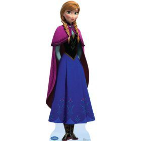 Frozen Anna Cardboard Standup Decoration