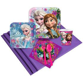 Frozen Birthday Party Deluxe Tableware Kit Each