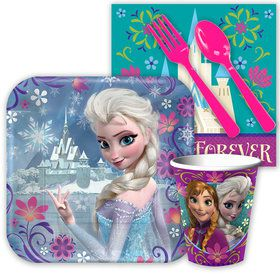 Frozen Birthday Party Standard Tableware Kit Each