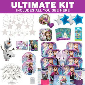 Frozen Birthday Party Ultimate Tableware Kit Each
