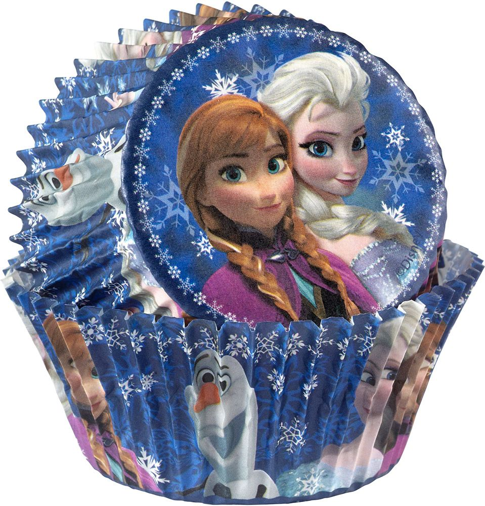 Frozen Cupcake Baking Cups (50 Pack) - Party Supplies BB4154500