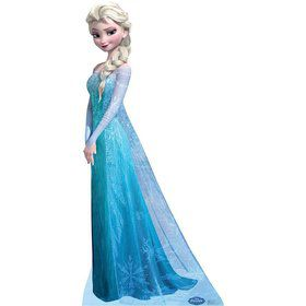 Frozen Elsa Cardboard Standup Decoration (Each)